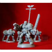 Space Marine Sergeant Captain from Warhammer 40,000 2nd Edition